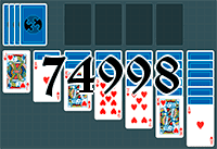 Solitaire №74998