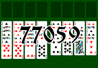 Solitaire №77059
