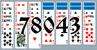 Solitaire №78043