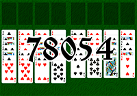 Solitaire №78054