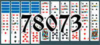 Solitaire №78073