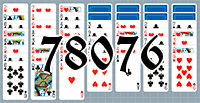 Solitaire №78076