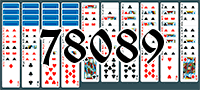 Solitaire №78089