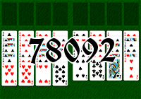 Solitaire №78092