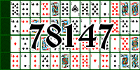 Solitaire №78147