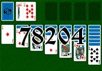Solitaire №78204