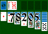 Solitaire №78205
