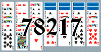 Solitaire №78217