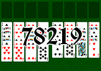 Solitaire №78219
