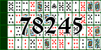 Solitaire №78245