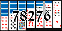 Solitaire №78276