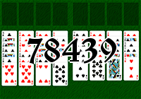 Solitaire №78439