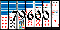 Solitaire №79600