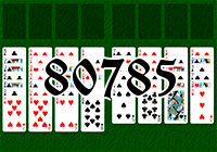 Solitaire №80785