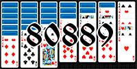Solitaire №80889