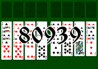 Solitaire №80939