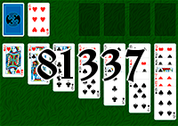 Solitaire №81337