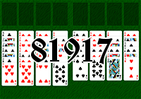 Solitaire №81917