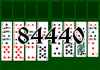 Solitaire №84440