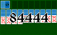 Solitaire №84444