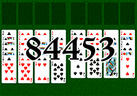 Solitaire №84453