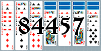 Solitaire №84457