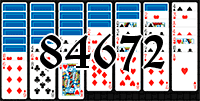 Solitaire №84672
