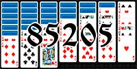 Solitaire №85205