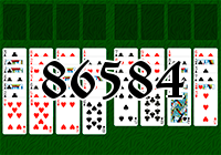 Solitaire №86584