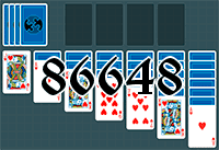 Solitaire №86648