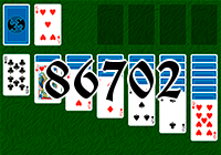 Solitaire №86702
