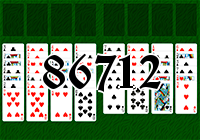 Solitaire №86712
