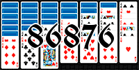 Solitaire №86876