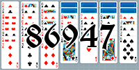 Solitaire №86947