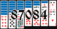 Solitaire №87084