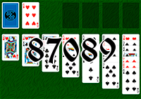 Solitaire №87089