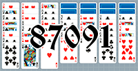 Solitaire №87091