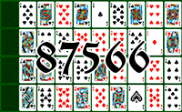 Solitaire №87566