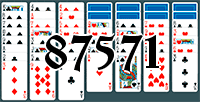 Solitaire №87571