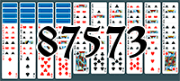 Solitaire №87573