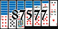 Solitaire №87577