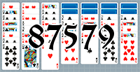 Solitaire №87579