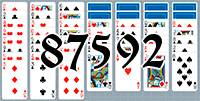 Solitaire №87592