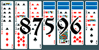Solitaire №87596