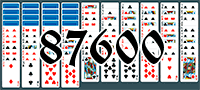 Solitaire №87600
