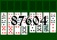 Solitaire №87604