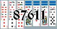 Solitaire №87611