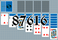 Solitaire №87616