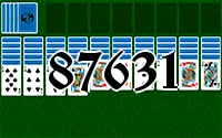 Solitaire №87631