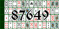 Solitaire №87649